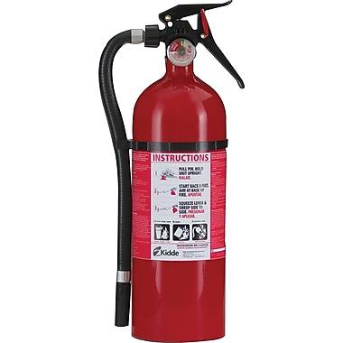Kidde Multi-Purpose Dry Chemical Fire Extinguisher, Aluminum, 195 psi