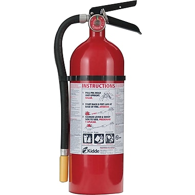ProLine™ Multi-Purpose Dry Chemical Fire Extinguisher,  Aluminum, 195 psi