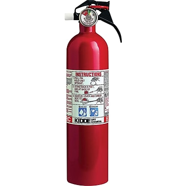 Kidde Kitchen/Garage Sodium Bicarbonate Fire Extinguisher, 100 psi