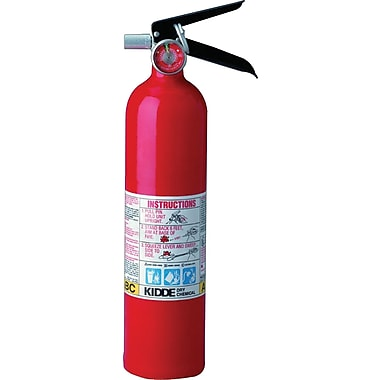 ProLine™ Multi-Purpose Dry Chemical Fire Extinguisher, Aluminum, 100 psi