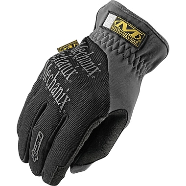 Mechanix Wear® FastFit® High Dexterity Gloves, Spandex/Synthetic, Elastic, Medium, Black