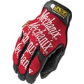 Mechanix Wear® Original® High Dexterity Gloves, Spandex/Synthetic, Hook & Loop Cuff, Large, Red