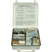Pac-Kit weatherproof Plastic First Aid Kit, 165 pieces, for 50 People