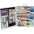 Pac-Kit Industrial Steel First Aid Kit for 75+ people, Contains 493 Pieces, 3 Shelf