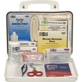 Pac-Kit Weatherproof Plastic First Aid Kit, 94 pieces for 25 People
