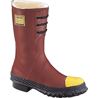 Ranger® Red Shearling Insulation Poly Rubber Insulated Steel Toe Boot, Size 10, 12 in (H)