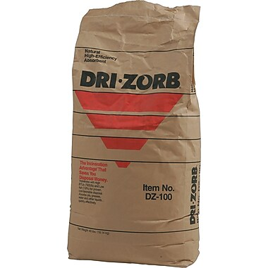 Brady® SPC® Dri-Zorb® Loose Granular Absorbent, Bag, 8.5 gal