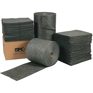 SPC® SXT™ Universal in.X-tra Toughin. Sorbents, Pad, 15in. x 19in., 19 gal, Three Ply, 100/Carton
