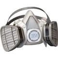 3M OH&ESD Half Facepiece Respirator, Organic Vapors, Large