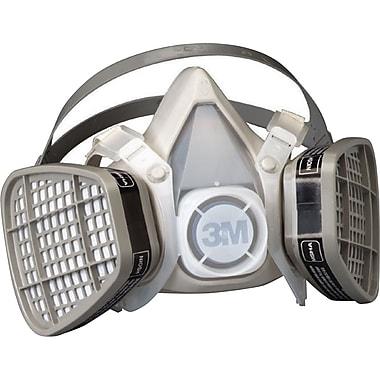 3M OH&ESD Half Facepiece Respirator, Organic Vapors, Medium