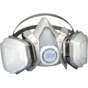 3M OH&ESD Half Facepiece Respirator, P95, Organic Vapors, Large