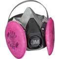 3M OH&ESD Half Facepiece Respirator Assembly, P100, Medium