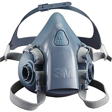 3M OH&ESD Reusable Half Facepiece Respirator, Small