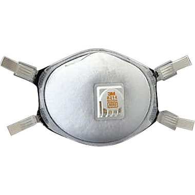 3M OH&ESD Half Facepiece Particulate Respirators, N95, Non-Oil Particulates, 10/Box