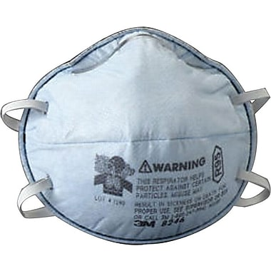3M OH&ESD Half Facepiece Particulate Respirators, R95, Oil Particulates, 20/Box