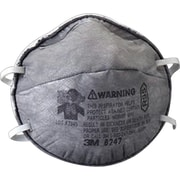 3M OH&ESD Half Facepiece Particulate Respirators, R95, Oil Particulates, Fixed Strap, 20/Box