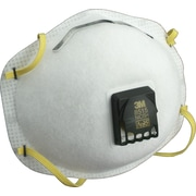 3M OH&ESD Half Facepiece Welding Respirators, N95, Non-Oil Particulates, Fixed Strap, 10/Box