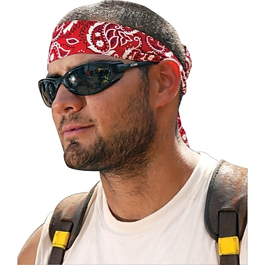 Ergodyne® Chill-Its® Bandana/Headband, Cotton, One Size, Tie, Camo