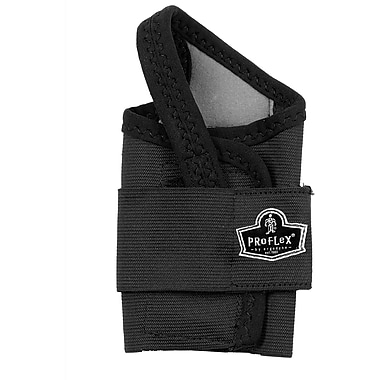 Ergodyne ProFlex® Wrist Support,  Large, Two Stage Hook & Loop, Black