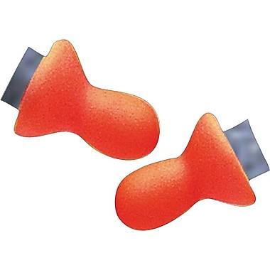 Howard Leightning® Replacement Pods, Orange, Foam, 27 dB, 50/Box
