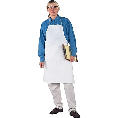 KleenGuard® Breathable Particle Protection Aprons, 28in. x 40in., White, 100/Carton