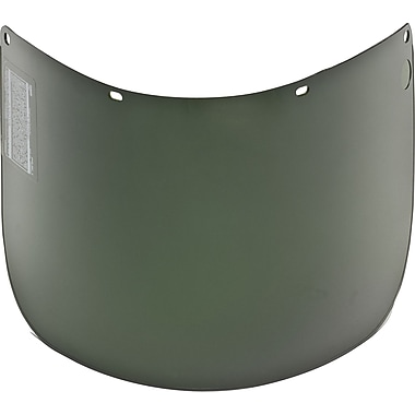 MSA Safety® Welding Visors, Propionate, 8in. x 15-1/2in., #5, Lens Coating