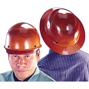 MSA Safety® Skullgard® Protective Caps and Hats, Standard, Fas-Trac, Cap, Natural Tan