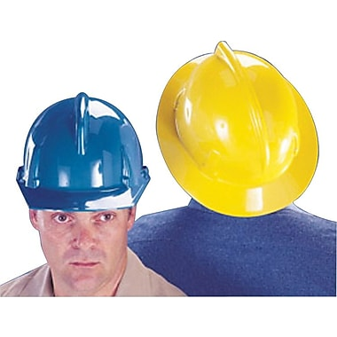 MSA Safety® Topgard® Protective Caps & Hats, Standard, Fas-Trac Ratchet, Hat, White