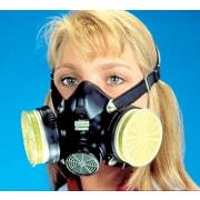 MSA Safety Comfo Classic® Half Facepiece Dual Cartridge Respirator, Rubber, Medium