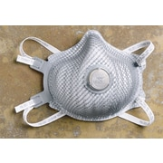Moldex® Premium Particulate Respirators, N99, Non-Oil Based Particulates, Adjustable Strap, Med/Lg