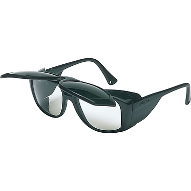 Sperian ANSI Z87 Horizon Welding Flip Glasses, Hard Coat, Black