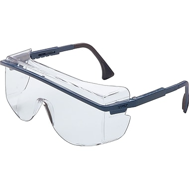 Sperian ANSI Z87 Astrospec OTG® Safety Glasses, Gray