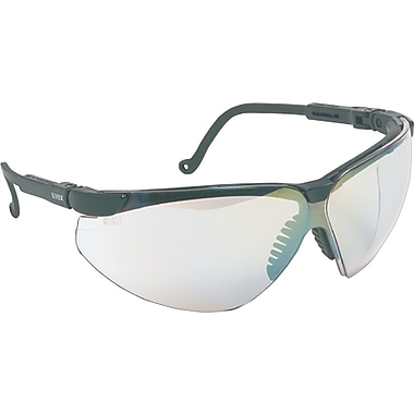 Sperian ANSI Z87 Genesis XC® Safety Glasses, Two Shot Temple, Uvextreme, Clear