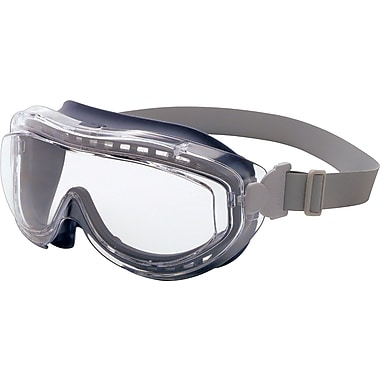 Sperian Flex Seal™ Goggles, Polycarbonate, Neoprene,  Clear/Navy