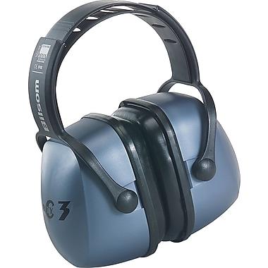 Howard Leightning® Clarity™ Over-The-Head Earmuffs, Metallic Blue, 20 dB