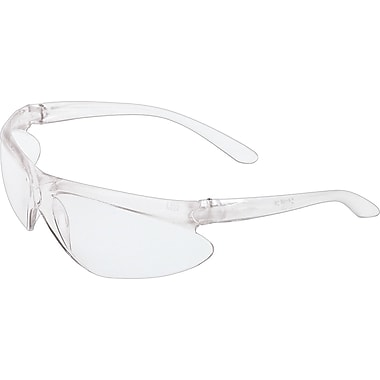Sperian ANSI Z87 A200 Series Safety Glasses, Dual Lens, Silver Mirror