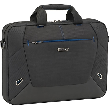 SOLO® Tech Collection, 16in. Laptop Slim Sleeve, Black