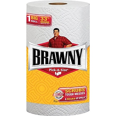 Brawny Big Roll 2-Ply Pick-a-Size Paper Towels 24 Rolls/Case (4451101)
