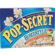 Pop Secret Microwave Popcorn, Homestyle, 3.5 oz. Bags, 3 Bags/Box