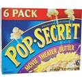 Pop Secret Microwave Popcorn, Movie Theater Butter, 3.5 oz. Bags, 6 Bags/Box