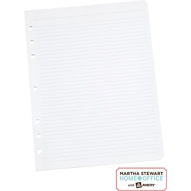 Martha Stewart Home Office™ with Avery™ Filler Paper, 8-1/2in. x 11in.