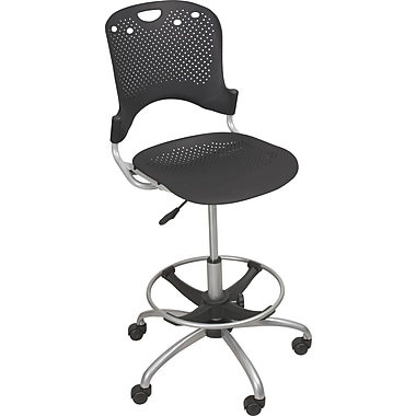 Balt Circulation Stool, Black