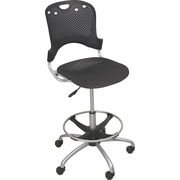 "Balt 52.5"" Circulation Task Stool, Black (34643)"