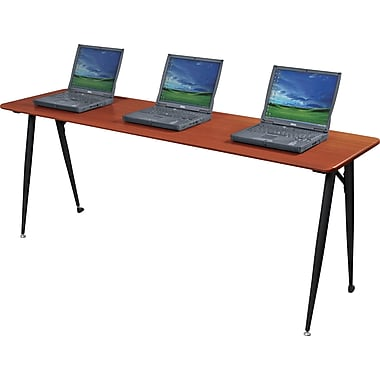 Balt®  iFlex™ Modular Desking System 72in. Seminar Table, Cherry/Black