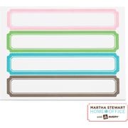 Martha Stewart Home Office™ with Avery™ File Folder Labels -  Blue, Pink, Gray, Cappuccino, 120/Pack