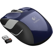 Logitech M525 Wireless Mouse, Blue