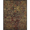 Feizy Soho Rug, Dark Chocolate/Rust