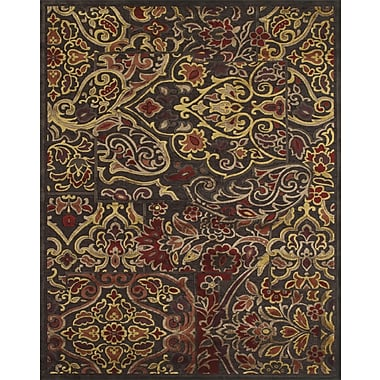 Feizy® Soho Rug, Dark Chocolate/Rust
