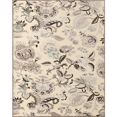 Feizy Soho Rug, Cream/Gray