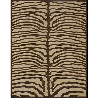 Feizy Soho Rug, Ivory/Chocolate